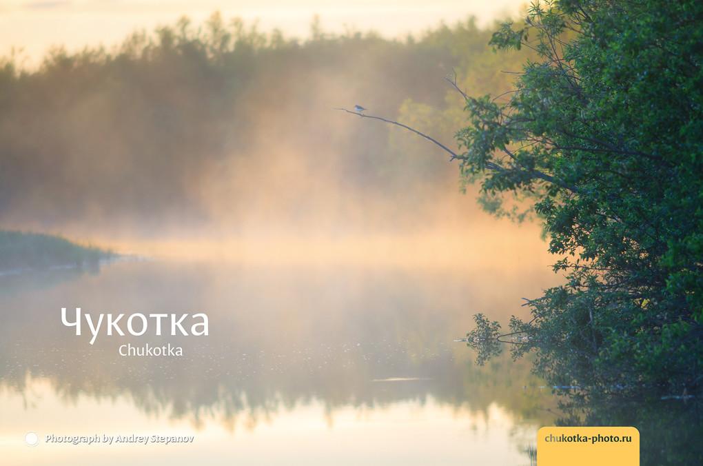 Утренний туман (река Белая)